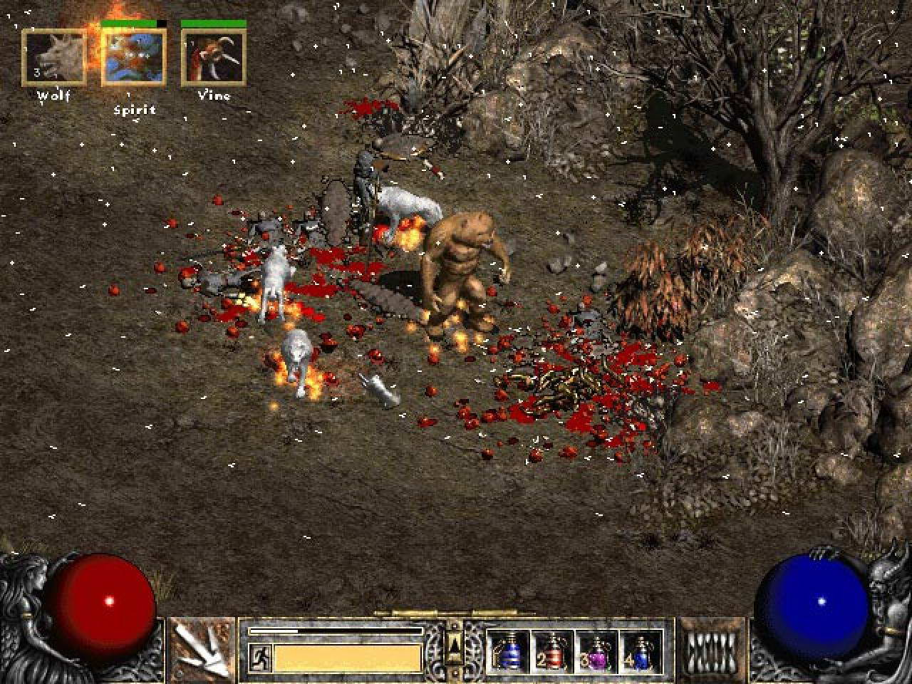 Скриншот к игре Diablo II: Lord of Destruction (2001) PC | RePack от R.G. Механики