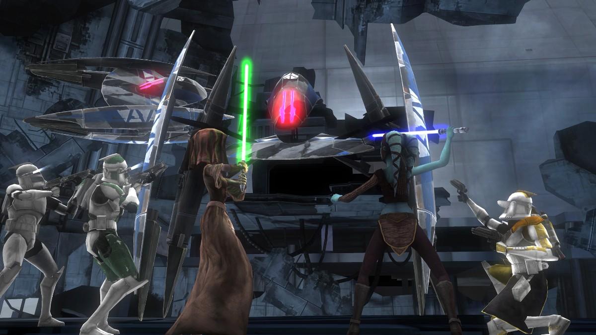 Скриншот к игре Star Wars: The Clone Wars Republic Heroes (2009) PC   RePack от R.G. Механики