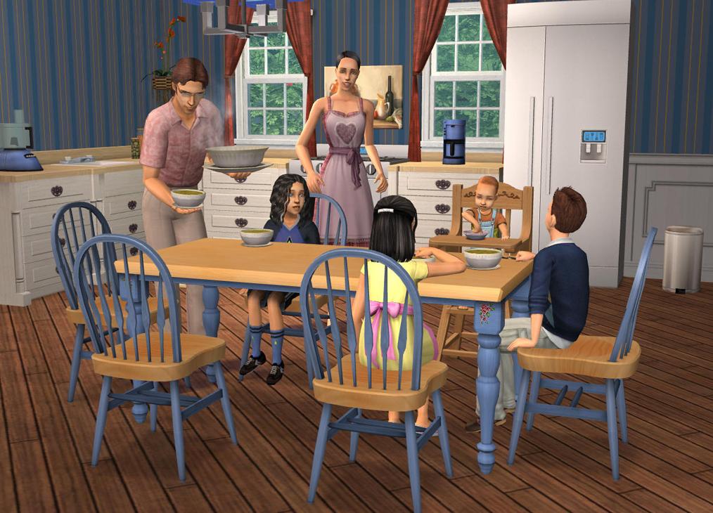 Скриншот к игре The Sims 2: Антология (2004-2008) PC   RePack от R.G. Механики