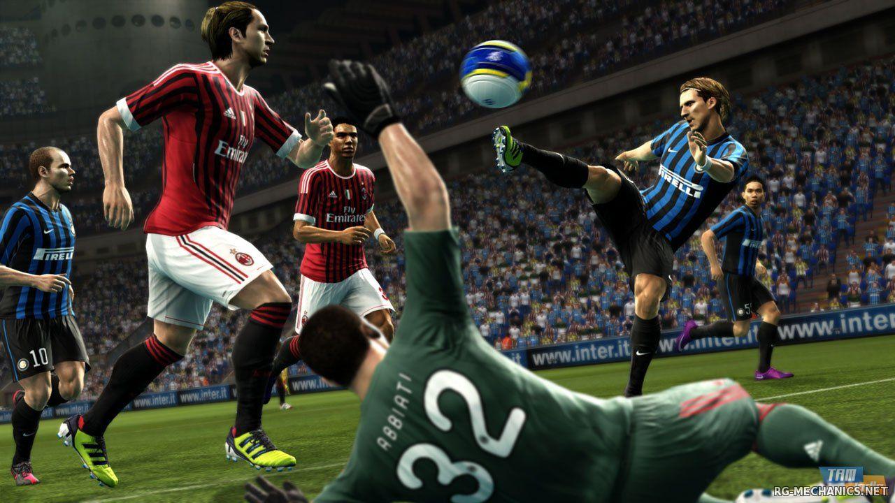 Скриншот к игре Pro Evolution Soccer 2013 (2012) PC   RePack от R.G. Механики