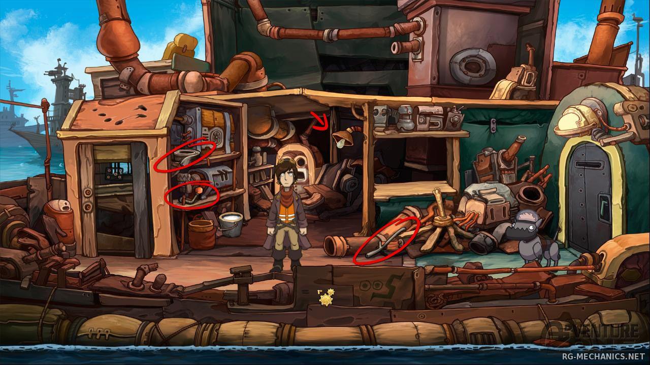Скриншот к игре Deponia (2012) PC | RePack от R.G. Механики