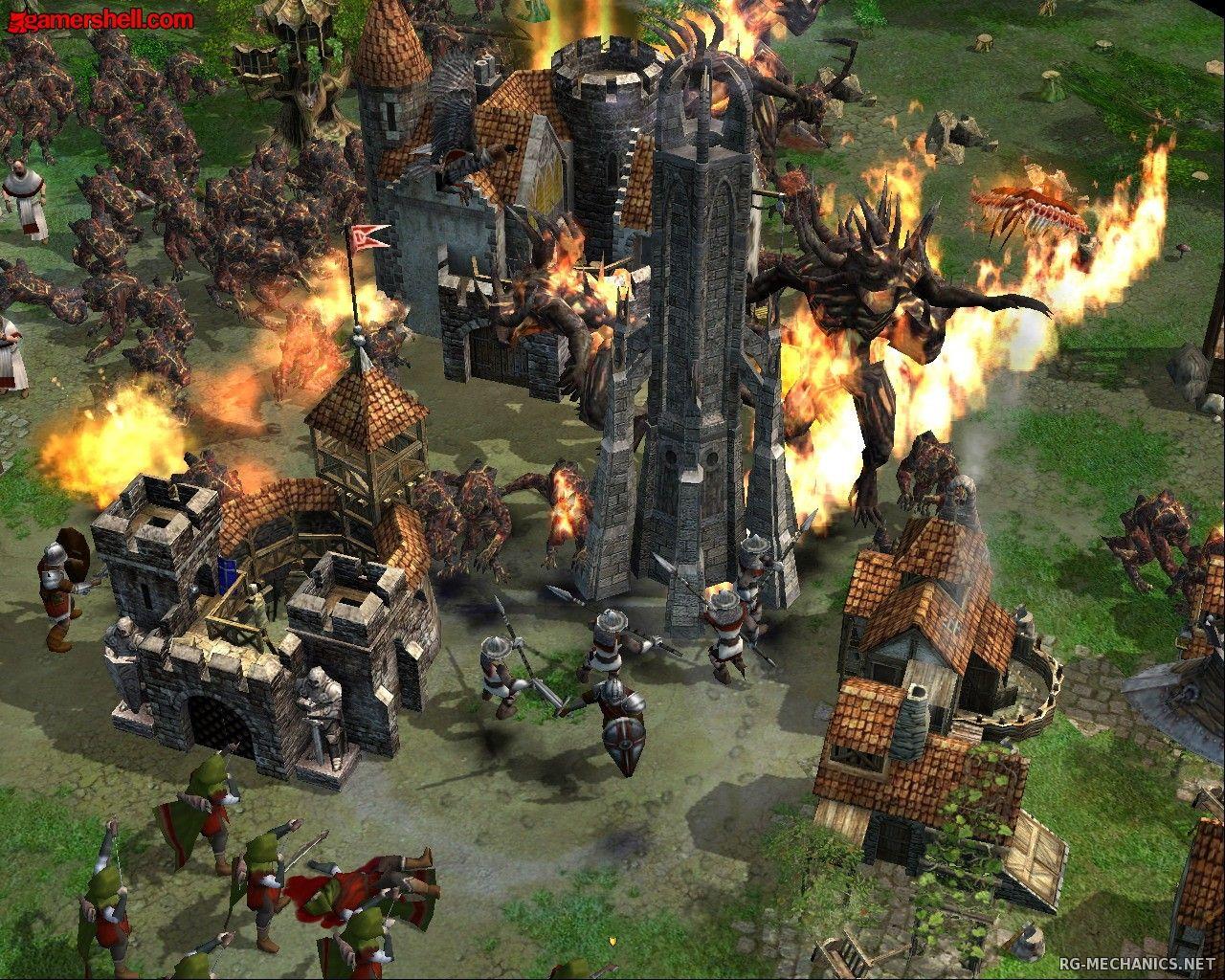 Скриншот к игре Хроники великой войны / Armies of Exigo (2004) PC | RePack от R.G. Механики