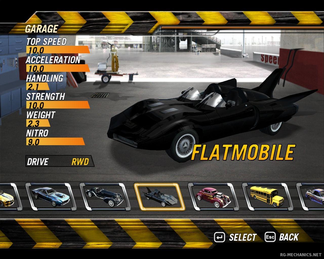 Скриншот к игре FlatOut: Trilogy (2004-2008) PC | RePack от R.G. Механики