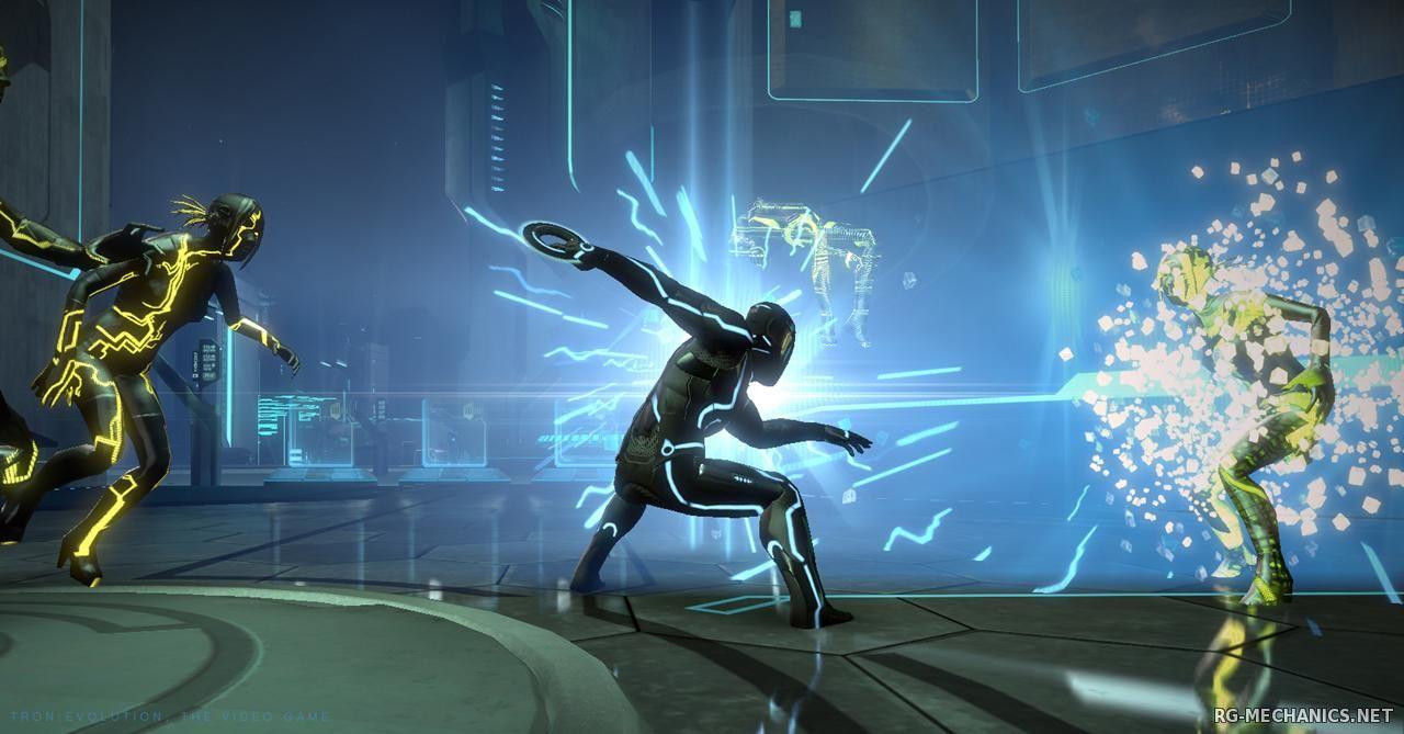 Скриншот к игре TRON: Evolution: The Video Game (2010) PC | Repack от R.G. Механики