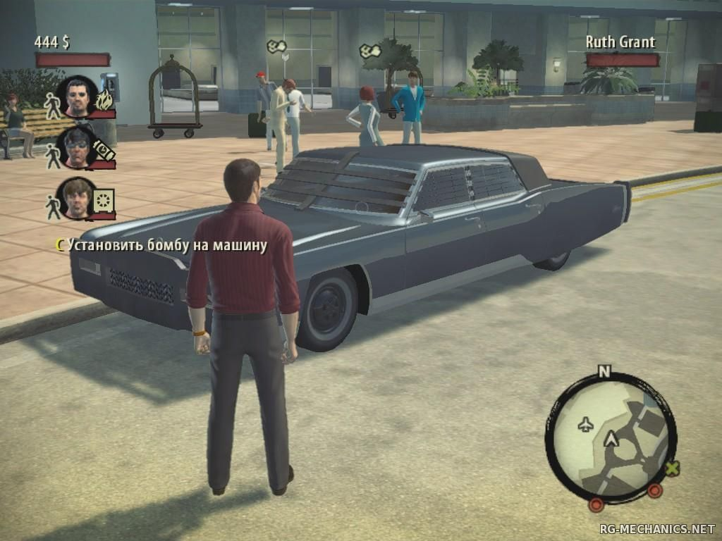 Скриншот к игре Крестный отец. Дилогия / The Godfather. Dilogy (2006-2009) PC | RePack от R.G. Механики