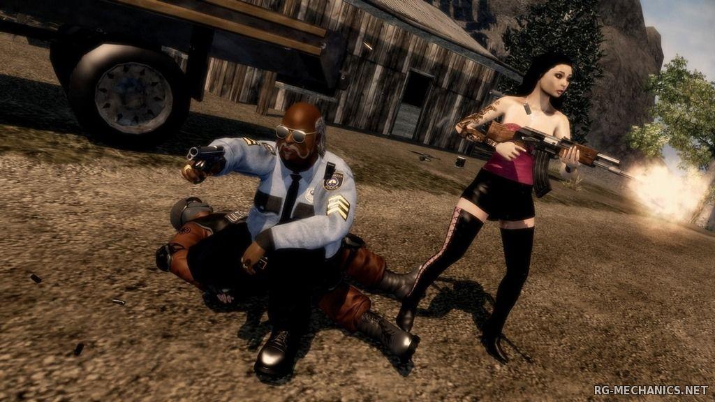 Скриншот к игре Saints Row: Dilogy (2008-2011) PC | RePack от R.G. Механики