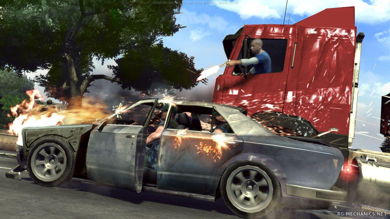 Скриншот к игре Вин Дизель. Wheelman (2009) PC   RePack от R.G. Механики