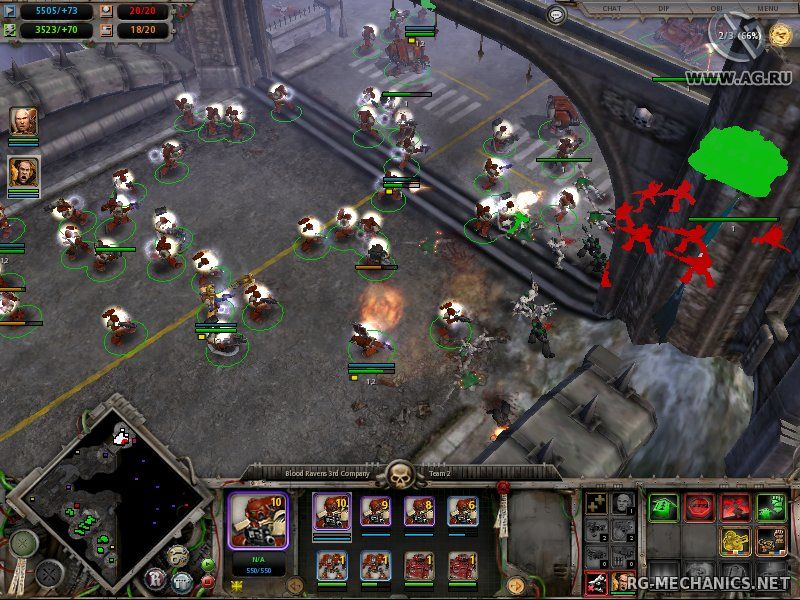 Скриншот к игре Warhammer 40.000: Dawn of War - Anthology (2005-2010) PC   RePack от R.G. Механики