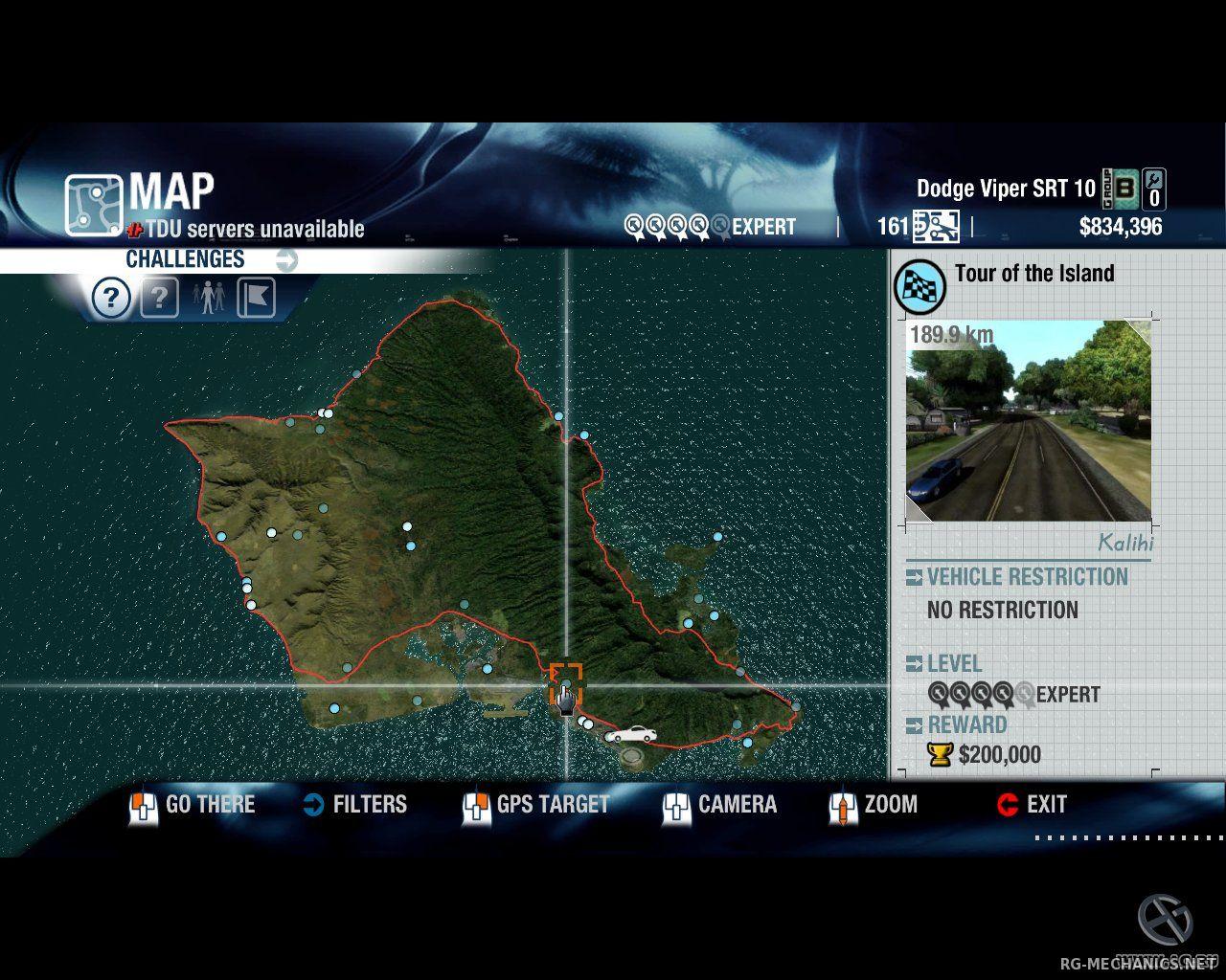 Скриншот к игре Test Drive Unlimited Gold (2008) PC | RePack от R.G. Механики