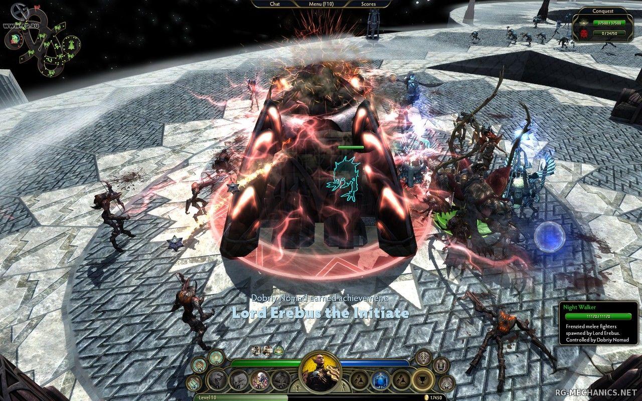 Скриншот к игре Demigod. Битвы богов (2009) PC   RePack от R.G. Механики