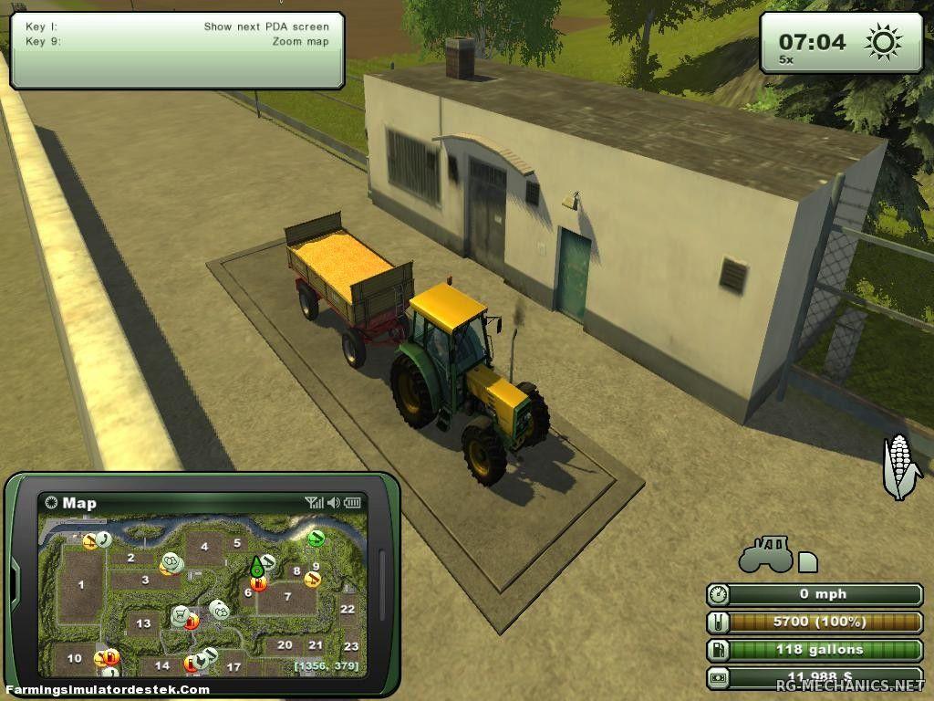 Скриншот к игре Farming Simulator 2013 (2012) PC   RePack от R.G. Механики
