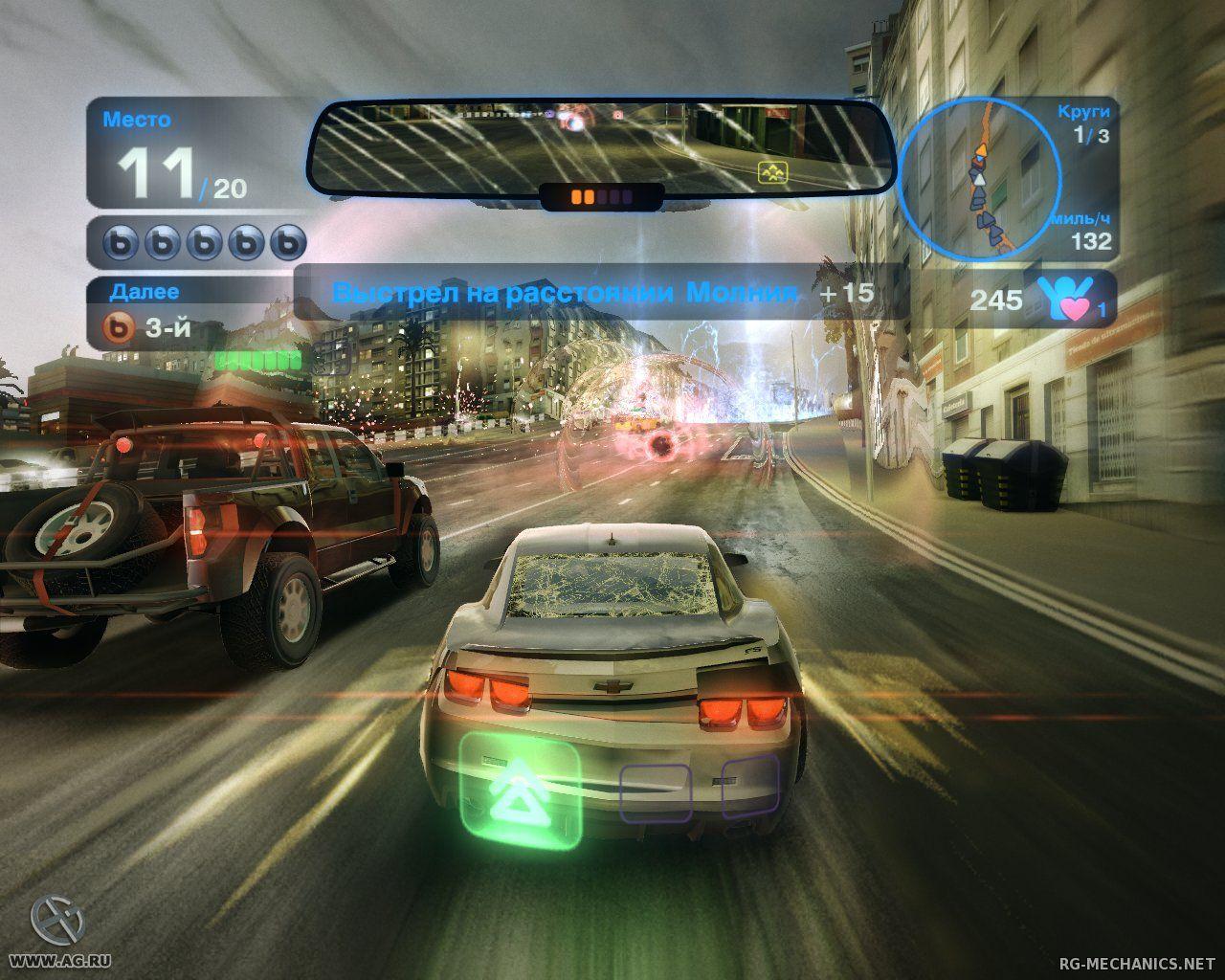 Скриншот к игре Blur (2010) РС | Repack от R.G. Механики