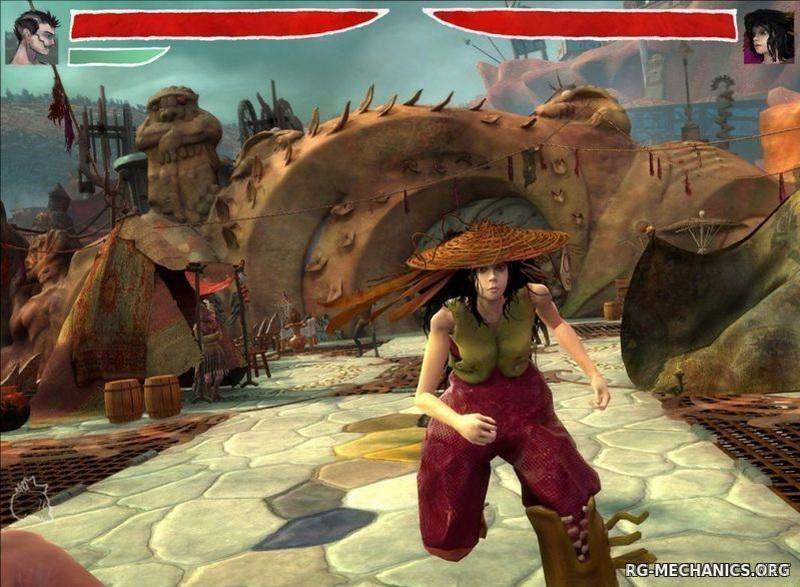 Скриншот к игре Zeno Clash: Дилогия (2009-2013) PC   RePack от R.G. Механики