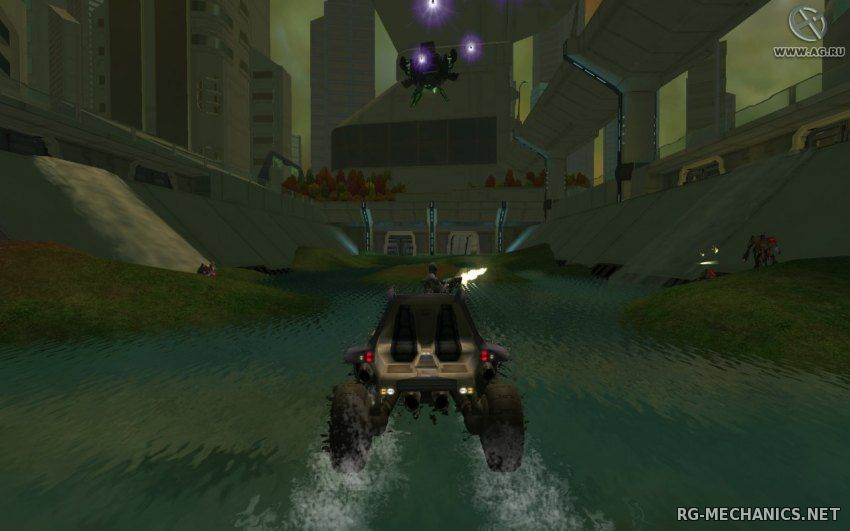 Скриншот к игре Advent Rising (2005) PC   RePack от R.G. Механики