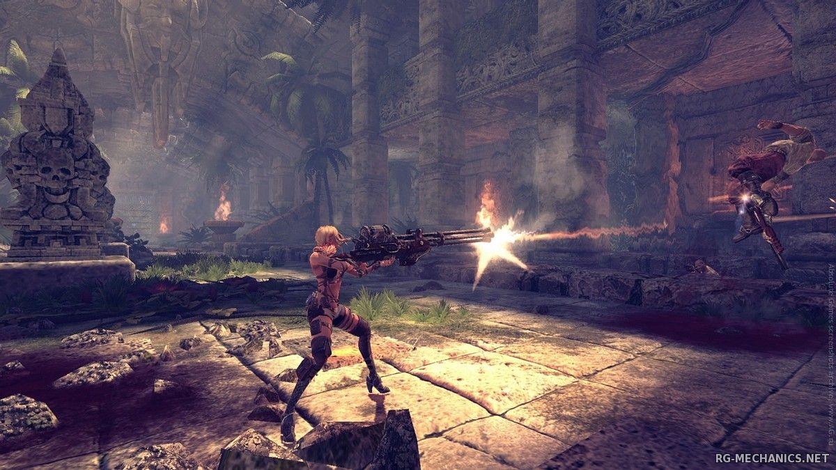 Скриншот к игре Клинки Времени / Blades of Time (2012) PC | RePack от R.G. Механики