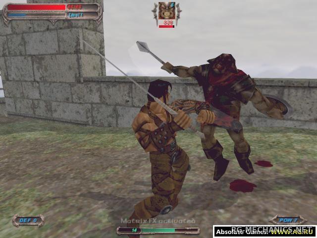 Скриншот к игре Разрыв: Лезвие Тьмы / Severance: Blade of Darkness (2001) PC   RePack от R.G. Механики