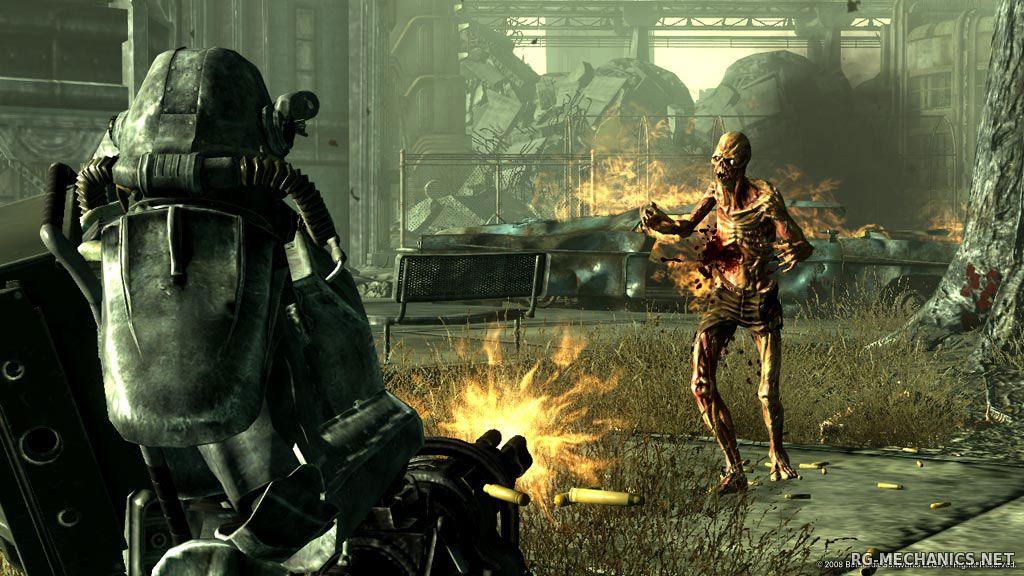 Скриншот к игре Fallout: Антология / Fallout: Anthology (1997-2012) PC | RePack от R.G. Механики