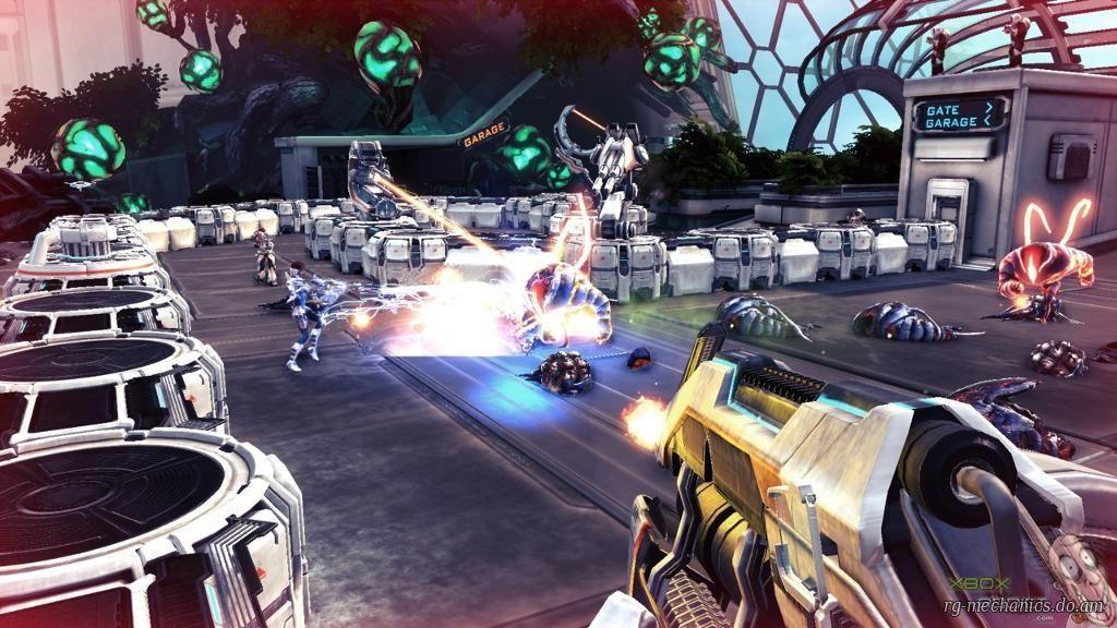 Скриншот к игре Sanctum 2 [v 1.1.25536] (2013) РС | RePack от R.G. Механики