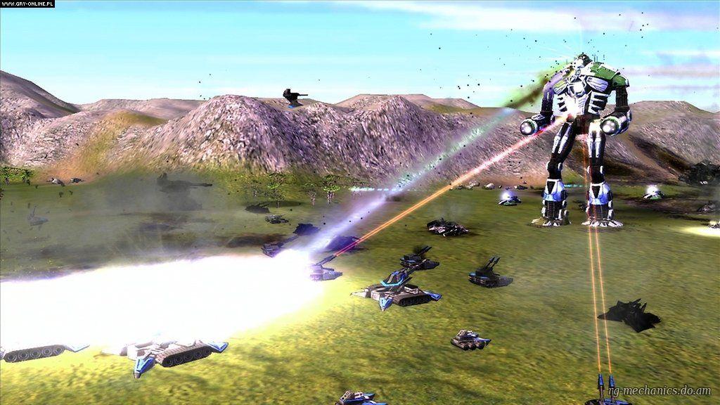 Скриншот к игре Supreme Commander: Антология (2007-2010) PC | RePack от R.G. Механики