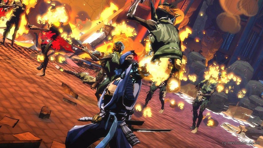 Скриншот к игре Yaiba: Ninja Gaiden Z (2014) РС | RePack от R.G. Механики