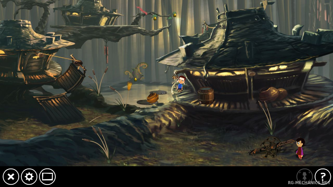 Скриншот к игре Lilly Looking Through (2013) PC | RePack от R.G. Механики