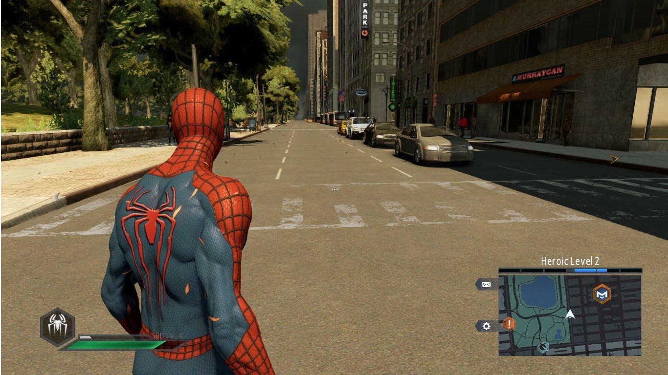 Скриншот к игре The Amazing Spider-Man 2 (2014) РС   RePack от R.G. Механики