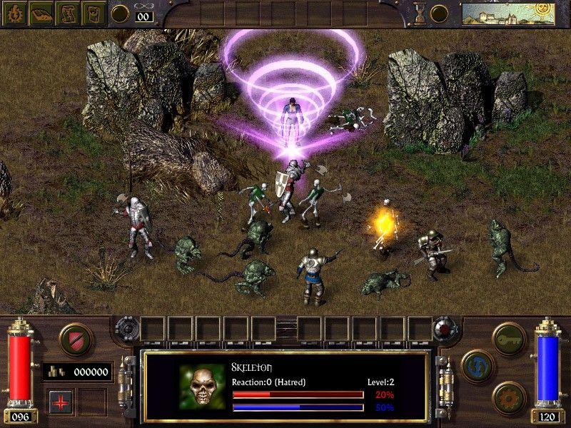 Скриншот к игре Arcanum: Of Steamworks and Magick Obscura (2001) PC | RePack от R.G. Механики