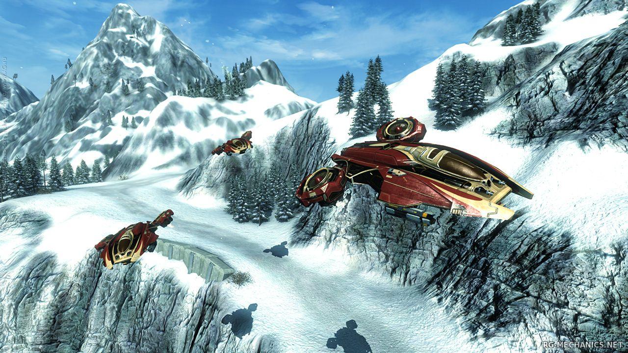 Скриншот к игре Carrier Command: Gaea Mission (2012) PC | RePack от R.G. Механики