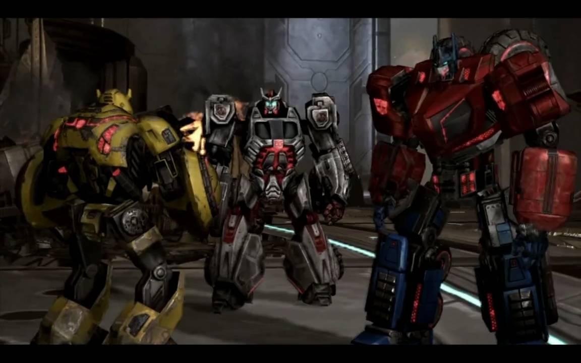 Скриншот к игре Transformers: War for Cybertron (2010) PC | Rip от R.G. Механики