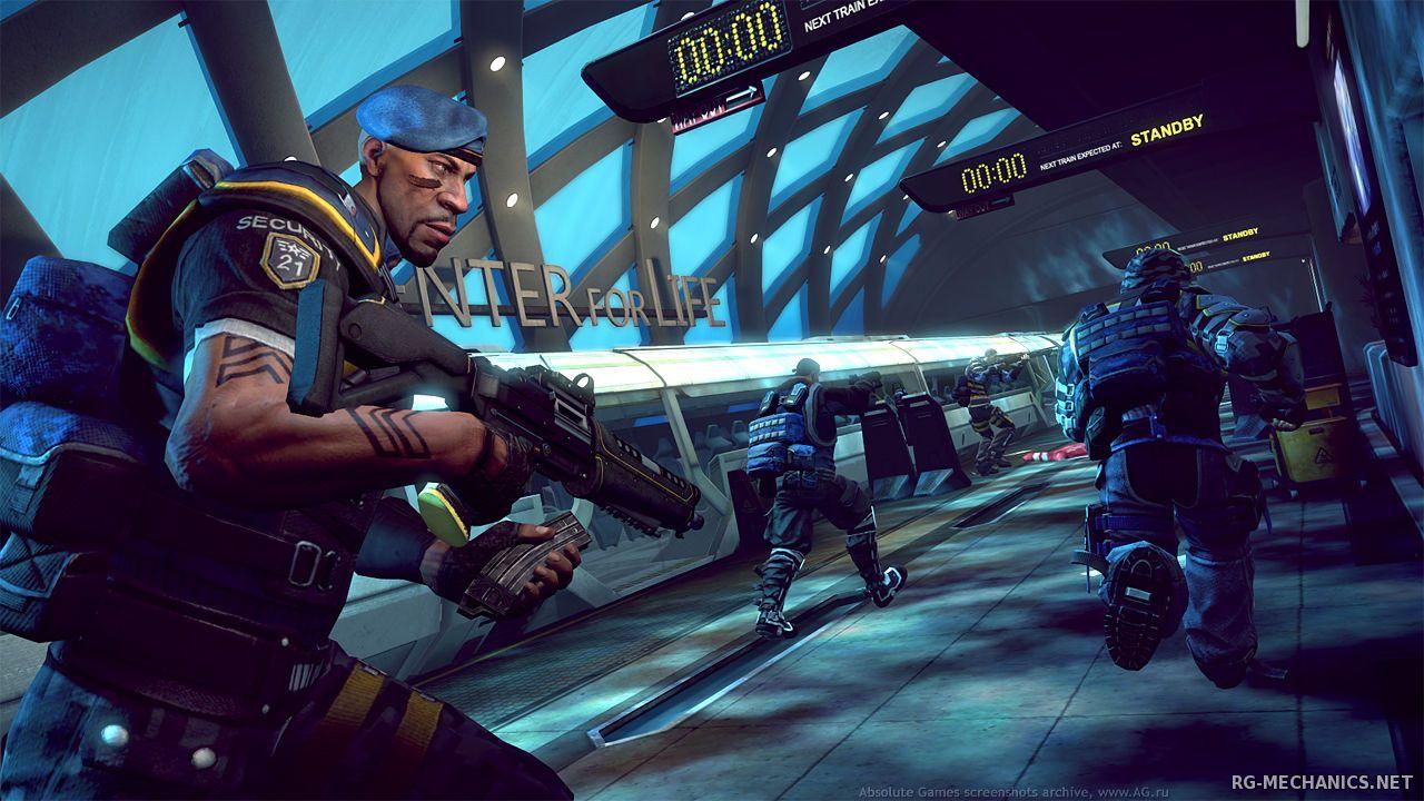 Скриншот к игре Brink (2011) РС | RePack от R.G. Механики