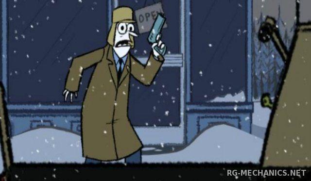 Скриншот к игре Puzzle Agent: Dilogy (2010-2011) PC | RePack от R.G. Механики