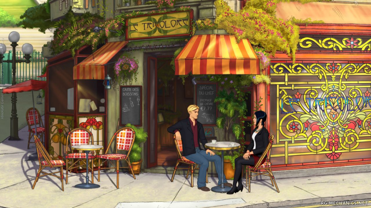Скриншот 2 к игре Broken Sword 5: The Serpent's Curse. Episode One & Two (2013-2014) PC | RePack от R.G. Механики