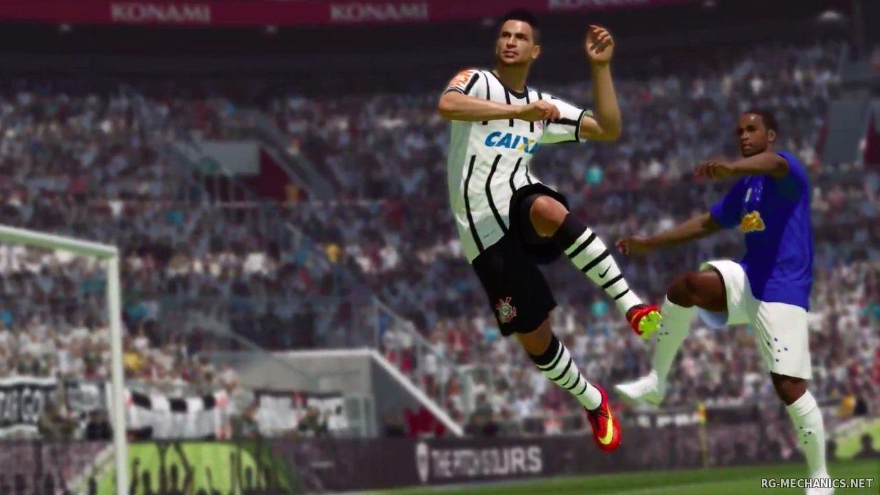 Скриншот к игре PES 2015 / Pro Evolution Soccer 2015 (2014) PC | RePack от R.G. Механики
