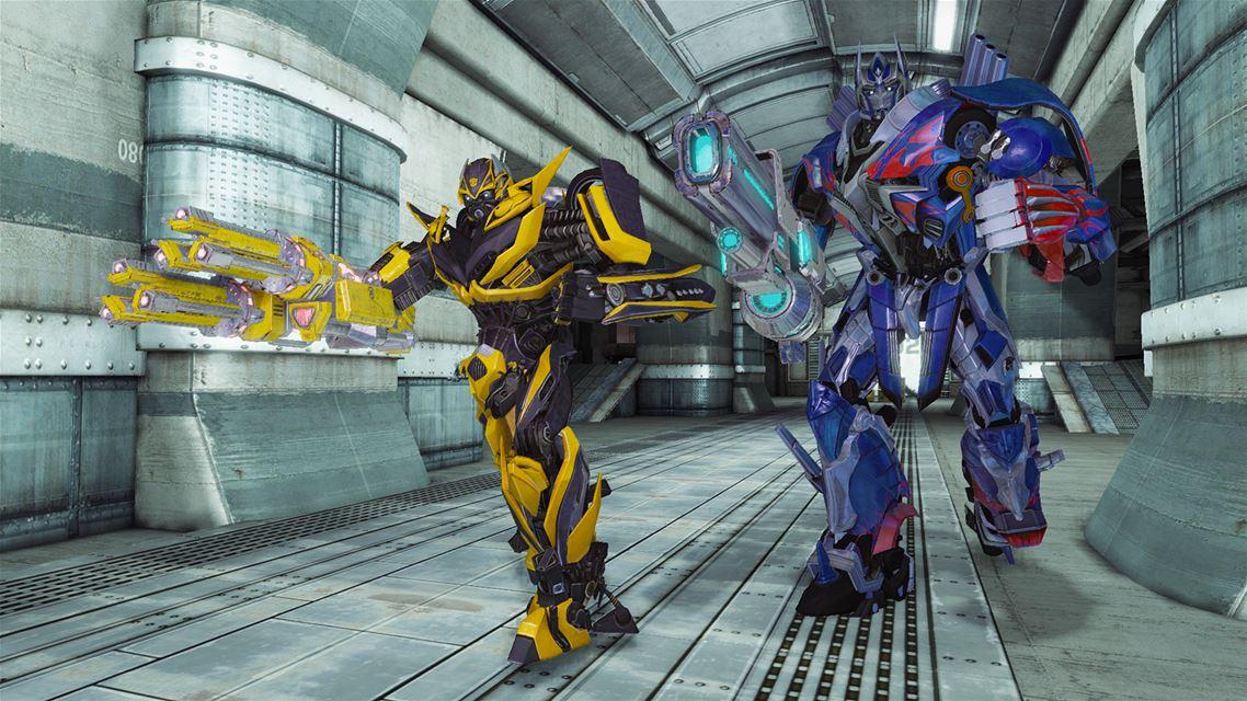 Скриншот к игре Transformers: Rise of the Dark Spark (2014) PC | RePack от R.G. Механики