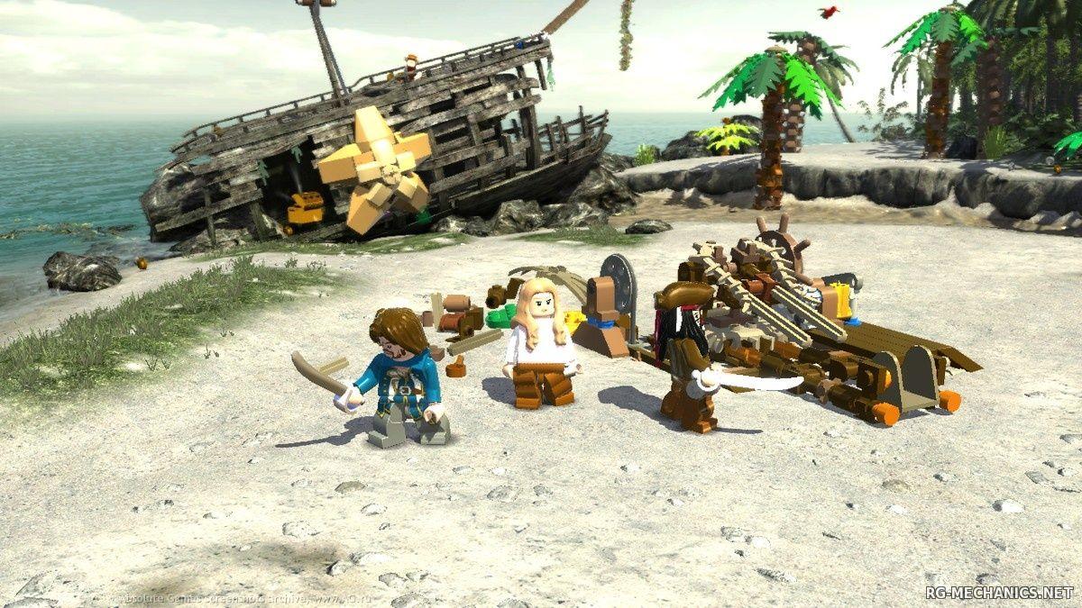 Скриншот к игре LEGO Pirates of the Caribbean (2011) PC | RePack от R.G. Механики