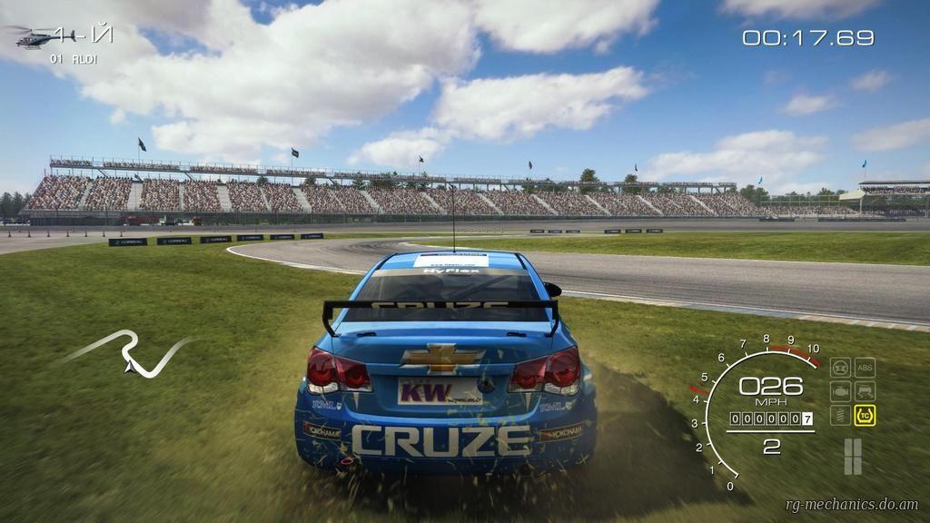 Скриншот к игре GRID Autosport - Black Edition [+ DLC] (2014) PC   RePack от R.G. Механики