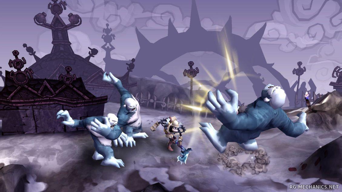 Скриншот к игре DeathSpank: Trilogy (2010-2011) PC | RePack от R.G. Механики