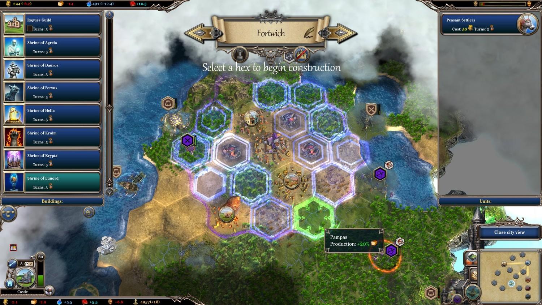 Скриншот к игре Warlock: Dilogy (2012-2014) PC | RePack от R.G. Механики