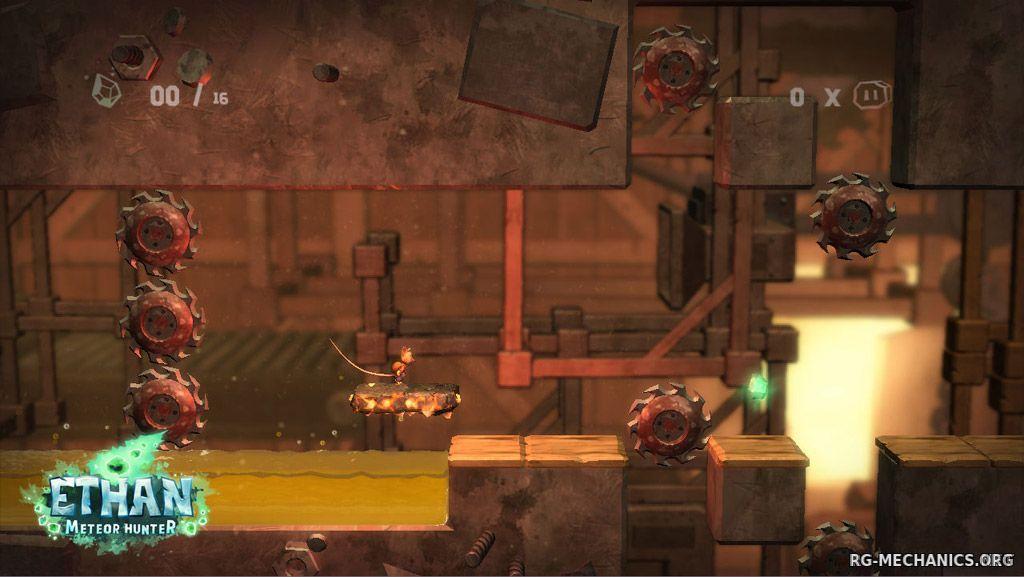 Скриншот к игре Ethan: Meteor Hunter (2013) PC | RePack от R.G. Механики