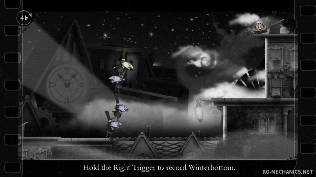 Скриншот к игре The Misadventures of P.B. Winterbottom (2010) PC | RePack от R.G. Механики