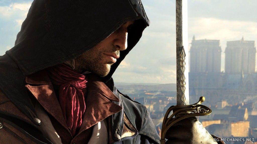 Скриншот к игре Assassin's Creed Unity [v 1.5.0 + DLCs] (2014) PC   RePack от R.G. Механики