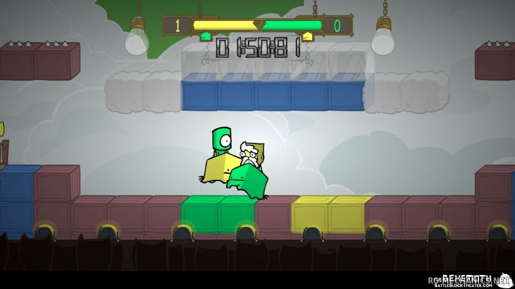 Скриншот к игре BattleBlock Theater (2014) PC | RePack от R.G. Механики