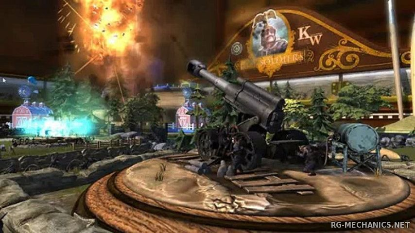 Скриншот к игре Toy Soldiers (2012) PC | RePack от R.G. Механики
