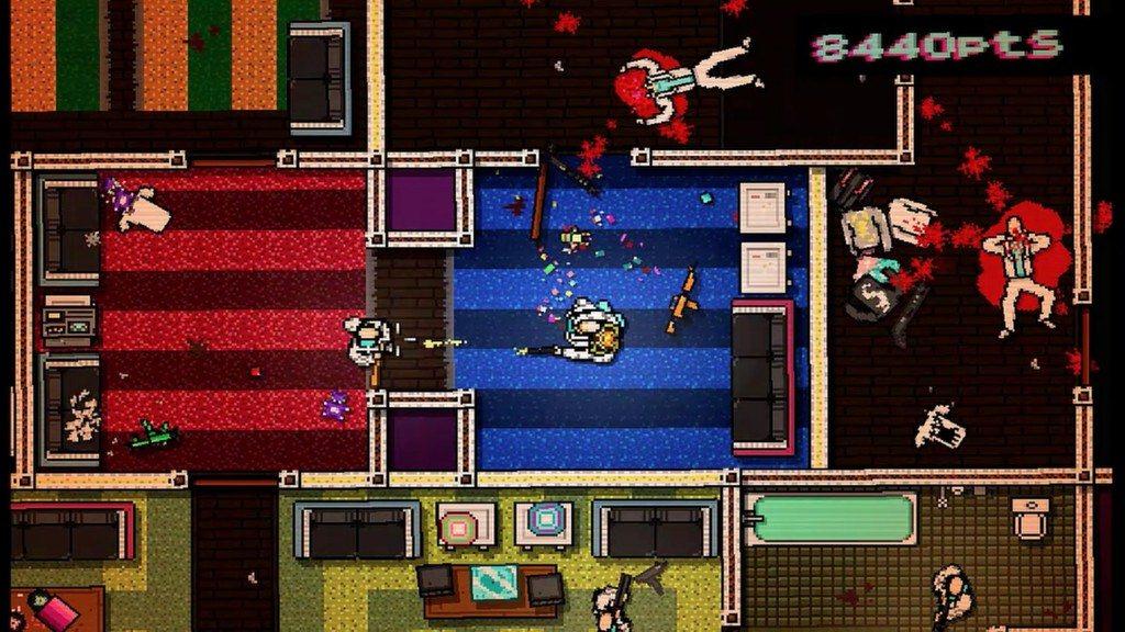 Скриншот к игре Hotline Miami - Дилогия (2012-2015) PC   RePack от R.G. Механики