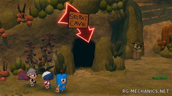 Скриншот к игре Costume Quest: Grubbins on Ice (2012) РС | RePack от R.G. Механики