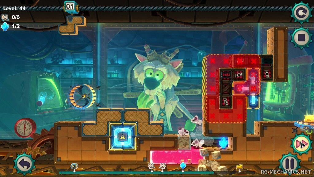Скриншот к игре MouseCraft [v 1.2] (2014) PC   RePack от R.G. Механики