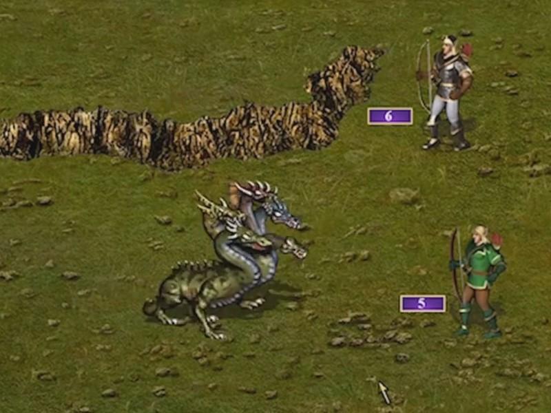 Скриншот к игре Heroes of Might & Magic 3: HD Edition [Update 4] (2015) PC   RePack от R.G. Механики