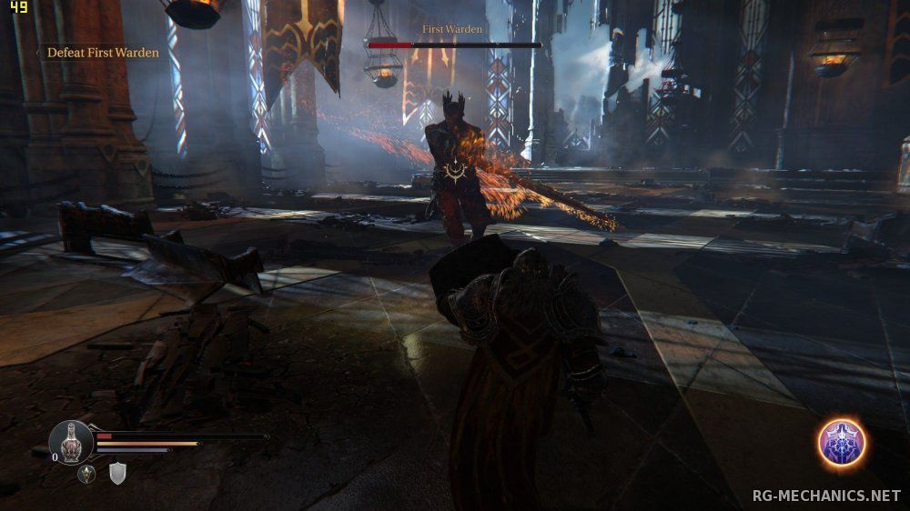 Скриншот к игре Lords Of The Fallen: Digital Deluxe Edition (2014) PC | RePack от R.G. Механики