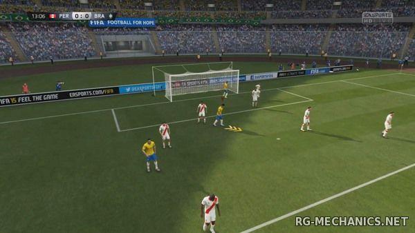 Скриншот к игре FIFA 15: Ultimate Team Edition (2014) PC   RePack от R.G. Механики