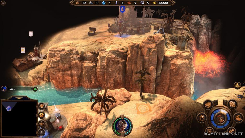 Скриншот к игре Герои меча и магии 7 / Might and Magic Heroes VII: Deluxe Edition [v 1.60] (2015) PC   RePack от R.G. Механики